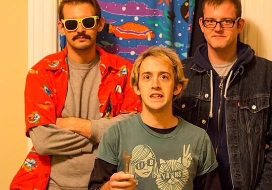 Times Beach is Ben Osborne, Mark Plant and Travis Dettmann. - MABEL SUEN