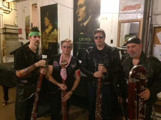 These St. Louis Symphony bassoon players were born to be wild. - VIA @ADAMCRANE | TWITTER