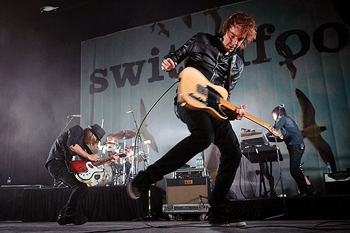 Switchfoot last night at the Pageant. See more photos from last night here. - PHOTO: TODD OWYOUNG