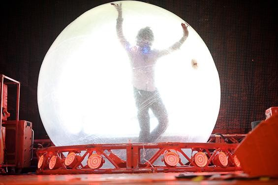 Wayne Coyne of Flaming Lips. View an entire slideshow of photos here. - TODD OWYOUNG