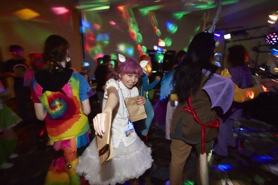 Dancing and prancing for My Little Pony at Crystal Fair. See more photos here. - THEO WELLING