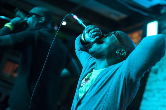 Rockwell Knuckles at this year's RFT Music Showcase (with Tef Poe). - KHOLOOD EID