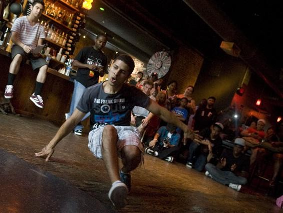 More breakdancing battles. - JON GITCHOFF