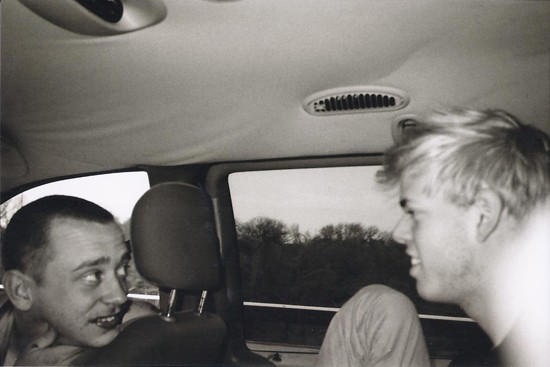 Lions Eat Grass in the tour van on their recent west coast tour. - RYAN BIRKNER