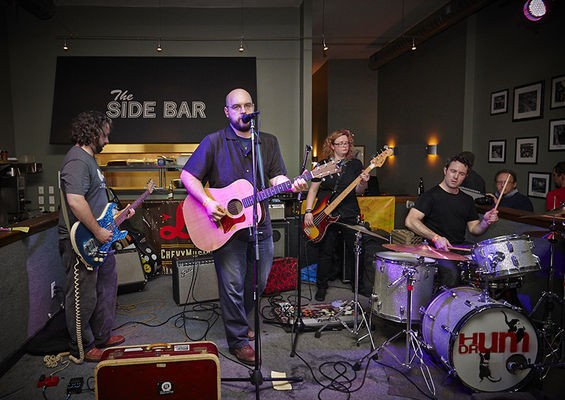 The Union Electric at the 2013 RFT Music Showcase - STEVE TRUESDELL