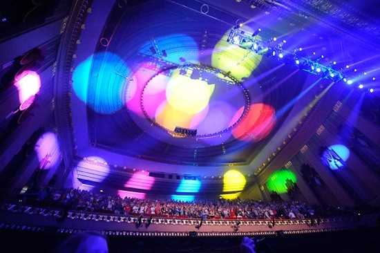Finest light show the Peabody's ever seen... - TODD OWYOUNG