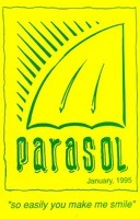 THE COVER OF A PARASOL CATALOGUE FROM 1995, WHICH INCLUDED NEUTRAL MILK HOTEL'S DEBUT SINGLE FOR $3.25