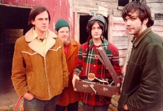 Neutral Milk Hotel - ANCIENT PRESS PHOTO FROM OLD TIMEY TIMES.