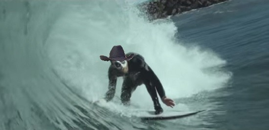 """A visual representation of what this band would sound like. - SCREENSHOT FROM MUSE'S """"SUPREMACY"""" VIDEO. BUT WITH A COWBOY HAT."""