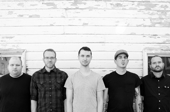Modern Life Is War. Vocalist Jeff Eaton is second from the right. - PRESS PHOTO