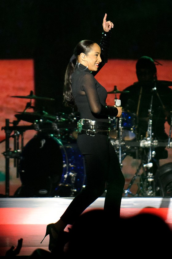 Sade, still gorgeous at 52. - TODD OWYOUNG
