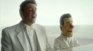 Jason Segel is a giant. And he might play a big role in making Muppet history on Sunday.