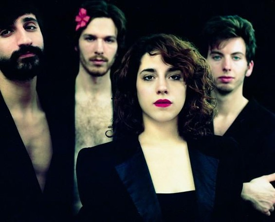 Brooklyn-based indie pop group Via Audio blows into town on June 26 in support of their sophomore album Animalore. - LEV KUPERMAN