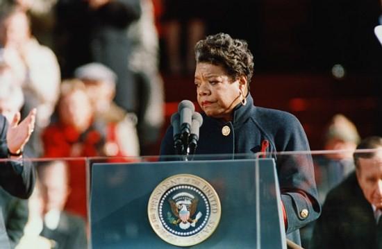 St. Louis-born Maya Angelou turns 84 today.