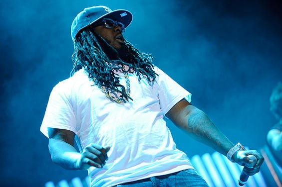 T-PAIN. PHOTO BY TODD OWYOUNG