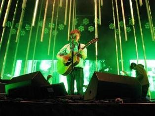 Thom Yorke does his thing at Radiohead's 2008 show in Maryland Heights. The band will perform on Friday at the Scottrade Center. - ANNIE ZALESKI