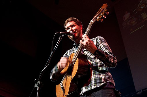 Mark Harrison of Capybara. See more photos from the concert here. - PHOTO: COREY WOODRUFF