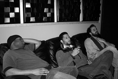 Brothers Lazaroff: Recording is hard work!