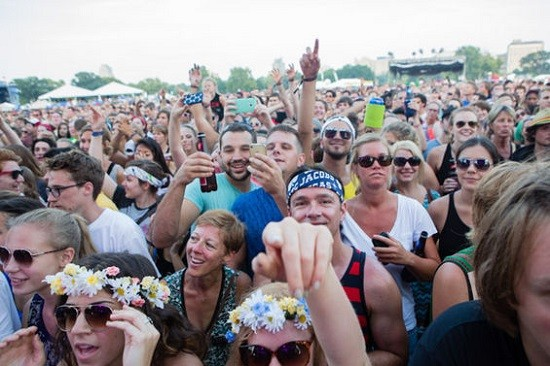 Crowd shot from last year's event. These people would be ecstatic to see OutKast. I am sure of it. - THEO WELLING