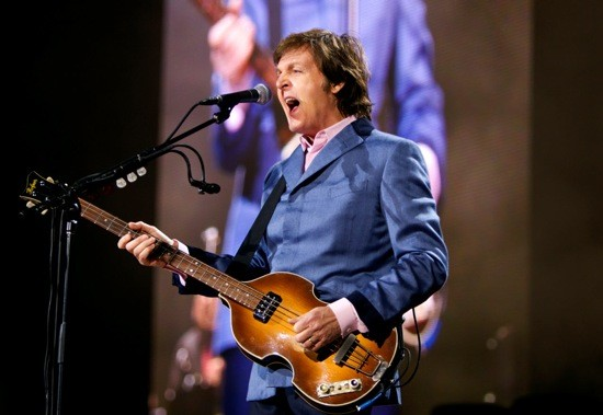 Paul McCartney in Stockholm - COURTESY OF AEG LIVE