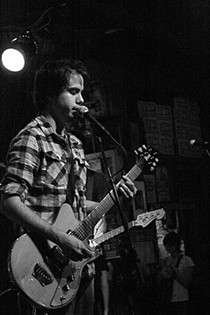 Collin with the Breaks at Off Broadway in 2010. - PHOTO BY JESS LUTHER/I WENT TO A SHOW.