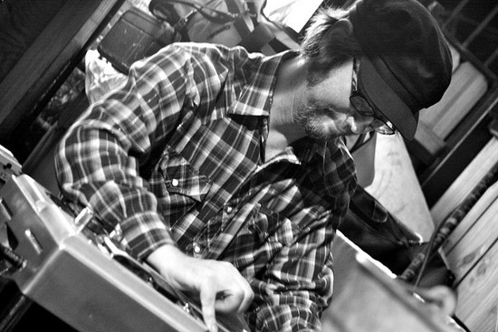 Jay Farrar on the pedal steel for Colonel Ford - TOM LAMPE