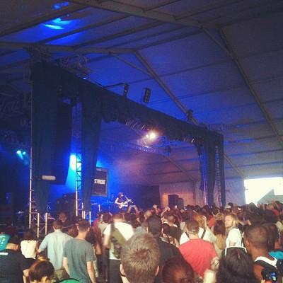 St. Vincent at Bonnaroo 2012. - KHOLOOD EID