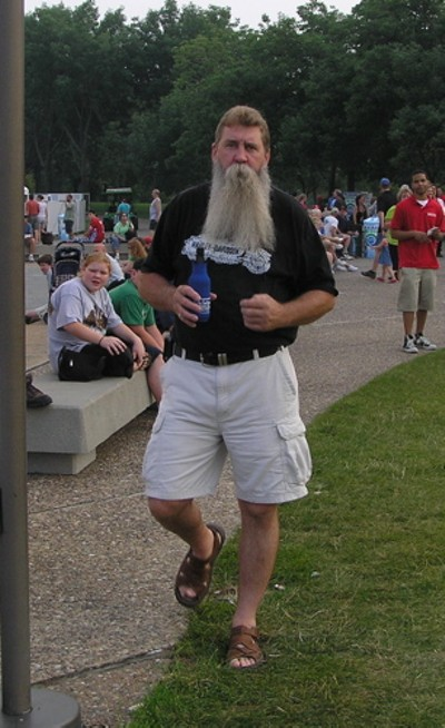 IT'S SANTA'S HARLEY-RIDING STEP-BROTHER