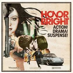 Honor Bright's movie poster/album cover for Action! Drama! Suspense!