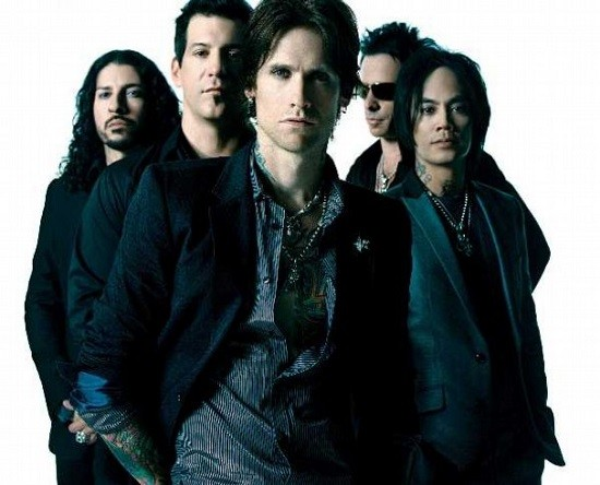 Buckcherry, who really should be on this list six times. Especially that second guy from the left, with the sociopatch on his face. - PRESS PHOTO