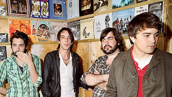 Canadian near-supergroup Wolf Parade play The Pageant on November 20.