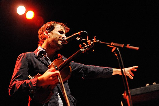 Andrew Bird at the Pageant in 2009. - TODD OWYOUNG