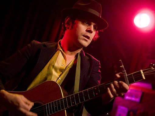 Langhorne Slim last nigh at Off Broadway. See the full slideshow from last night's show here. - PHOTO: JON GITCHOFF