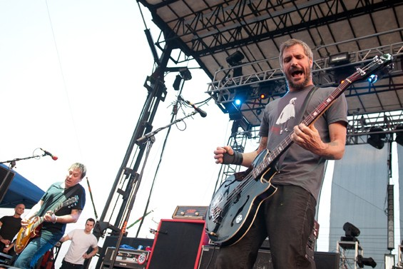 BAD RELIGION. PHOTO BY JON GITCHOFF