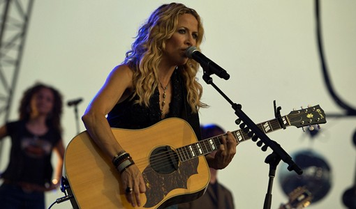 Sheryl Crow on July 11. See more photos. - PHOTO: STEW SMITH