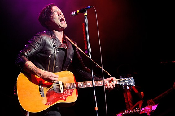 Butch Walker last night at the Pageant. - PHOTO: TODD OWYOUNG