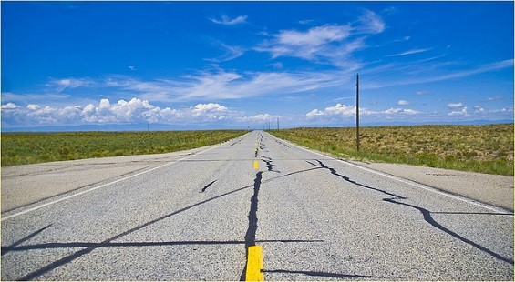 The open road is calling your name. - RON COGSWELL / FLICKR