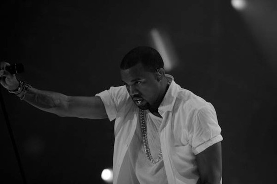 King Douchebag himself, Kanye West. - PHOTO BY MARCO TORRES
