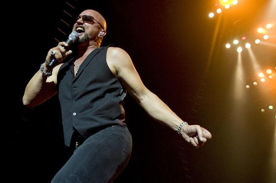 Geoff Tate of Queensryche. More photos here. - JON GITCHOFF