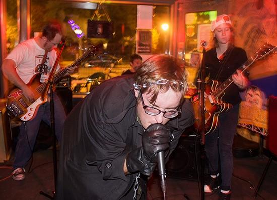 Animal Teeth at CBGB. - MABEL SUEN