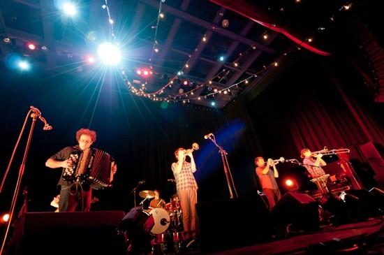 Beirut: Band nerds. - JASON STOFF