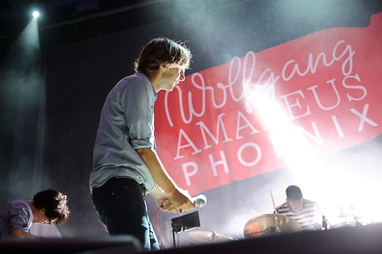 SEE MORE OF TODD OWYOUNG'S PHOTOS OF PHOENIX AT THE PAGEANT.