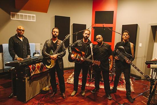 Brothers Lazaroff in the studio. - JARRED GASTREICH