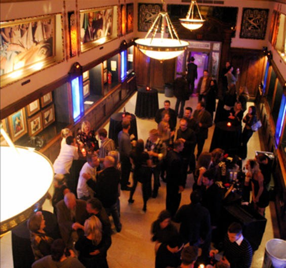 The Thaxton Speakeasy's main floor during its April 2008 opening - SARAH PARADOSKI