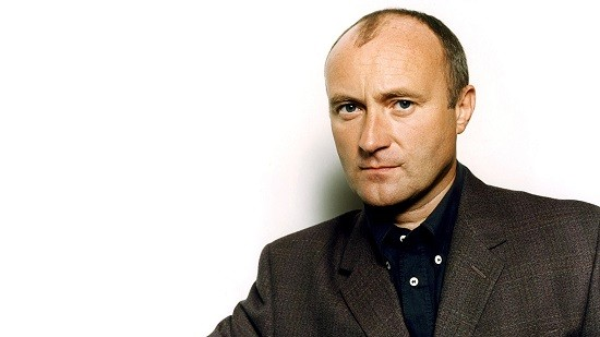 What, do you think you're better than Phil Collins? - PRESS PHOTO