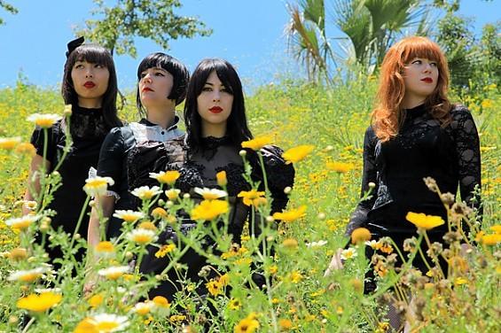 Garage pop goddesses Dum Dum Girls play the Billiken Club February 23.