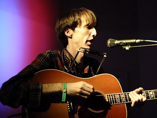 Bradford Cox performing as the Atlas Sound at Cicero's, 2009 - EGAN O'KEEFE