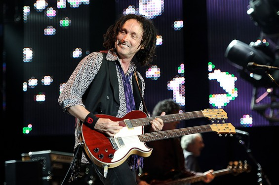 Mike Campbell of Tom Petty & the Heartbreakers.  View more photos here. - TODD OWYOUNG