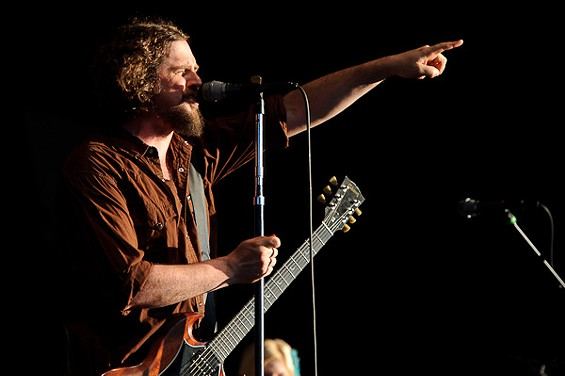 Patterson Hood of Drive-By Truckers. View more photos here. - TODD OWYOUNG