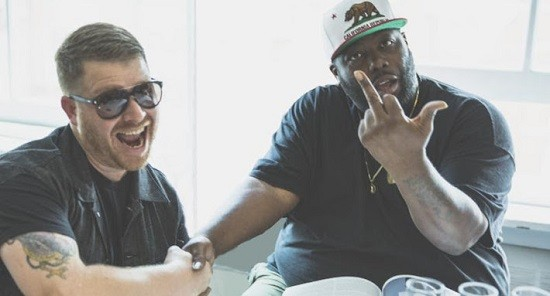 Run the Jewels' album will soon be available for cats as well. - COURTESY OF MASS APPEAL RECORDS